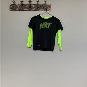 Nike long sleeve polyester shirt
